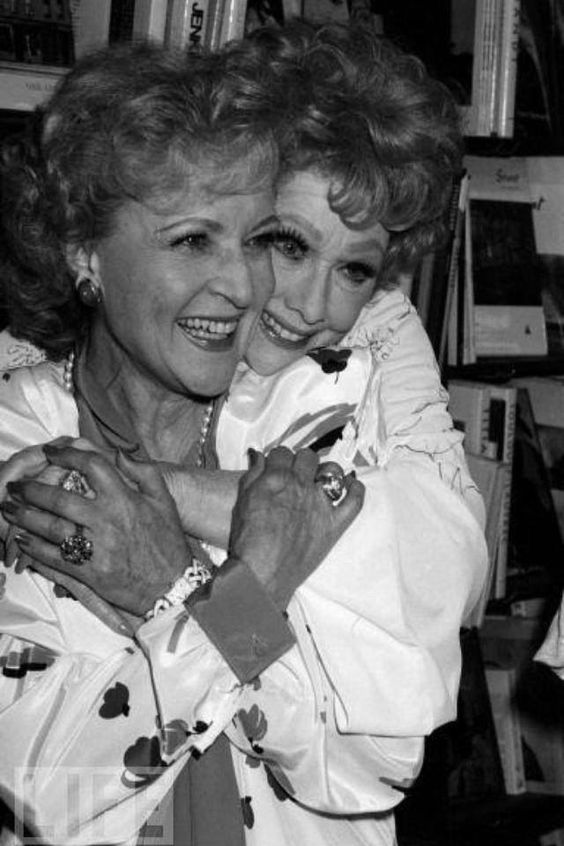 betty white and lucile ball